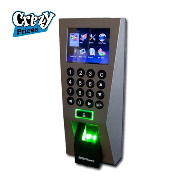 ZKTECO F18 Attendence Machine at lowest price available at crazyprices