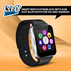 Smart watch GT08(black) with GSM slot Bluetooth