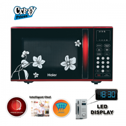 Haier Red Ribbon Microwave Oven (HDN-2390EGT)
