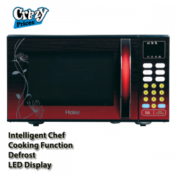 Haier Red Ribbon Microwave Oven 25 Litres (HGN-2590EGT)