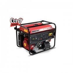 Homage Generator HGR-6.02 KV-D (ATS) With Wheel+Gas Kit+Oil