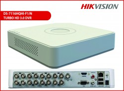 Hikvision 16 Channel Turbo HD DVR  DS-7116HQHI-F1/N (Turbo HD 3.0) 1080P/2MP