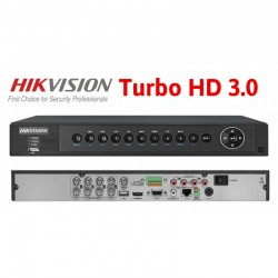 Hikvision 8 Channel Turbo HD DS-7208HUHI-F1/N (Turbo HD 3.0) 3MP 1080P
