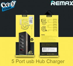 REMAX 5 PORT USB Hub Charger