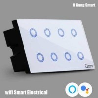 8 GANG SMART WIFI ELECTRICAL TOUCH