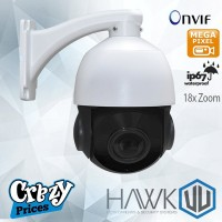 HawkVU 2.0 MP 18x Optical  IP PTZ Speed Dome Camera