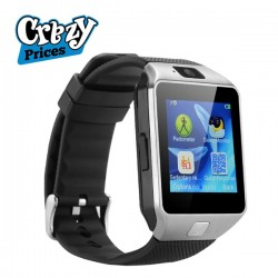 Android Smart watch BLACK DZ09 with GSM slot Bluetooth Supported for iOS Android Smart phones