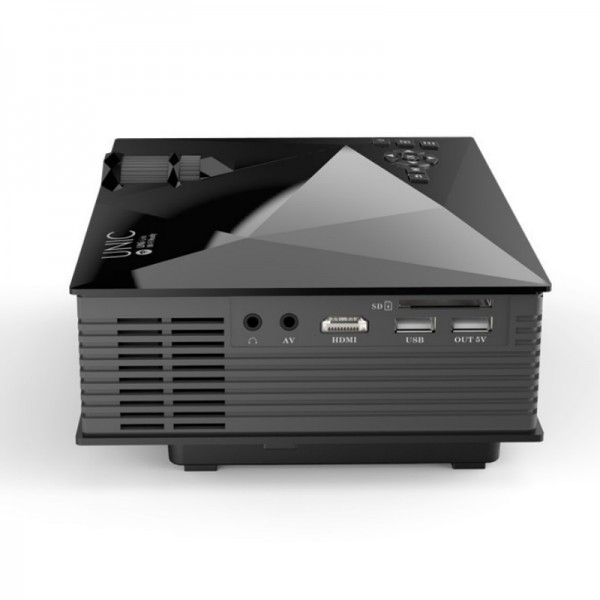 Best unic mini projector uc46 wifi price specification for Best small projector 2016