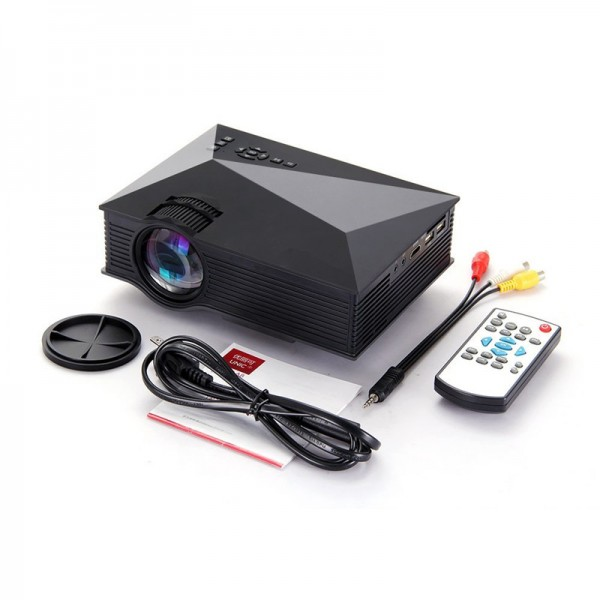Best unic mini projector uc46 wifi price specification for Mini projector price